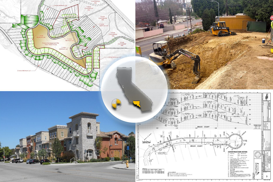 Pasadena Civil Engineering, Los Angeles Civil Engineering & Ventura Civil Engineering Samples